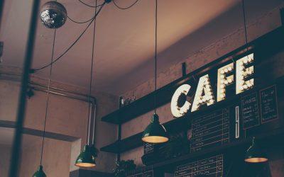 Gør din café hyggelig med tavler