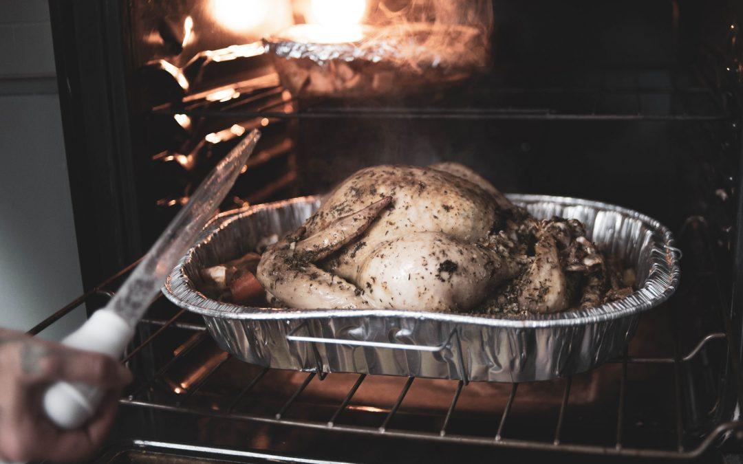 Forbered maden i alubakker